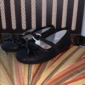 Size 7 Girls Black Dress Shoes